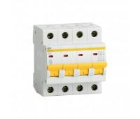 ВА47-29 4Р 10А 4.5кА (MVA20-4-010-D), автоматический выключатель