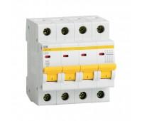 ВА47-29 4Р 20А 4.5кА  (MVA20-4-020-B), автоматический выключатель