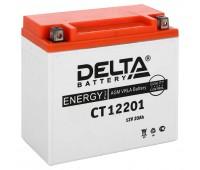 Delta CT 12201, свинцово-кислотный аккумулятор