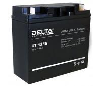 Delta DT 1218, аккумулятор