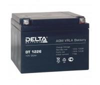 Delta DT 1226, аккумулятор