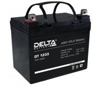 Delta DT 1233, свинцово-кислотный аккумулятор