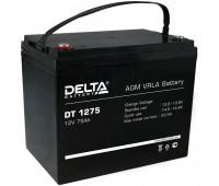 Delta DT 1275, свинцово-кислотный аккумулятор