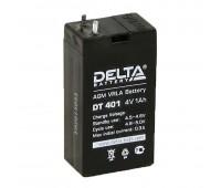 Delta DT 401, свинцово-кислотный аккумулятор