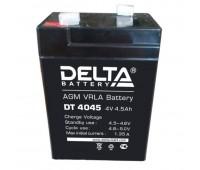 Delta DT 4045, свинцово-кислотный аккумулятор