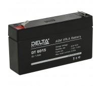 Delta DT 6015, свинцово-кислотный аккумулятор