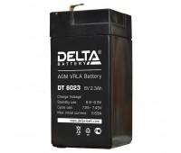 Delta DT 6023, свинцово-кислотный аккумулятор