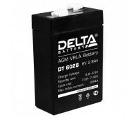 Delta DT 6028, свинцово-кислотный аккумулятор