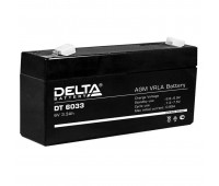 Delta DT 6033, свинцово-кислотный аккумулятор
