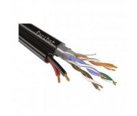ParLan complex F/UTP2 Cat5e PVC/PEtr 2*0.75, кабель комбинированный