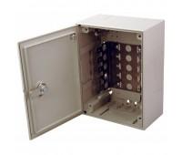 04-0104, коробка монтажная под 5 плинтов с замком