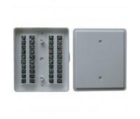 КРТП-10*2, коробка распределительная телефонная плоская