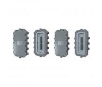 КВМК-ТИП Б-А(5ТG1/2)-В(1ТG1/2)-С(5ТG1/2)-D(1ТG1/2), коробка коммутационная взрывозащищенная