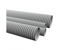 Ecoplast 10020, труба ПВХ гофрированная легкая 20 мм