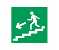 """Молния-12 """"Человек по лестнице влево вниз"""", световое табло"""