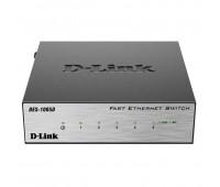 DES-1005D/O2B, 5-портовый коммутатор