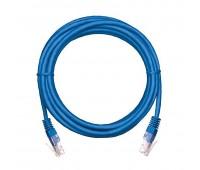 EC-PC4UD55B-BC-PVC-050-BL-10, коммутационный шнур