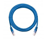 EC-PC4UD55B-BC-PVC-100-BL-10, коммутационный шнур