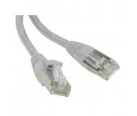Hyperline PC-LPM-STP-RJ45-RJ45-C5e-10M-GY, патч-корд