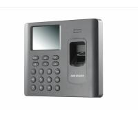 DS-K1A802EF, терминал доступа со встроенными считывателями EM карт и отпечатков пальцев