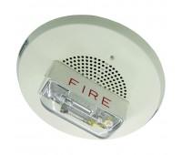 ET90-24MCCH-FW, оповещатель пожарный речевой комбинированный