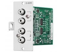 D-001R, модуль стерео входа