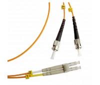 Hyperline FC-50-FC-LC-PC-1M, патч-корд волоконно-оптический