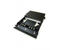 Hyperline FO-19BX-1U-12DLC-AQ-SPL, патч-панель волоконно-оптическая