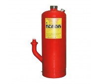 Буран-50КД-В, модуль порошкового пожаротушения