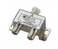 05-6001, делитель ТВ х 2 под F разъём 5-1000 МГц
