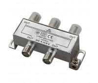 05-6003, делитель ТВ х 4 под F разъём 5-1000 МГц