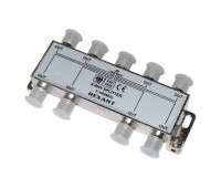 05-6005, делитель ТВ х 8 под F разъём 5-1000 МГц