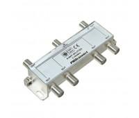 05-6024, делитель ТВ х 6 под F разъём 5-1000 МГц