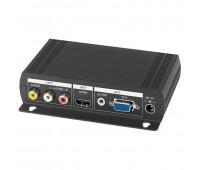 AD001HH, преобразователь видео и аудиосигналов в VGA и HDMI