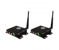 WT2.4/4+WR2.4/4, комплект передачи композитного видеосигнала