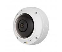 """Axis M3037-PVE , IP-видеокамера антивандальная миниатюрная с объективом """"рыбий глаз"""""""