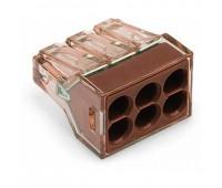 WAGO 773-606 , клемма для 6 проводников