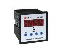 AD-721, амперметр цифровойнапанель72х72однофазный