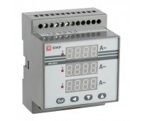AD-G33, амперметр цифровойнаDINтрехфазный
