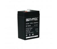 Security Force SF6045, аккумуляторная батарея