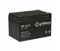 Optimus OP 1212, аккумуляторная батарея