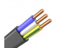 ВВГ-Пнг(А)-LS 3*4, кабель силовой плоский 0,66кВ (бухта 100 м)