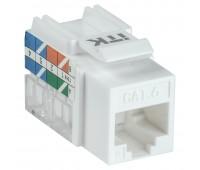 ITK CS1-1C06U-11, модуль Keystone Jack категория 6 UTP 110 IDC 90°