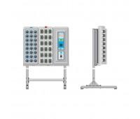 ЭВС 4.115.104, стойка напольная для электронного сейфа на 3 секции
