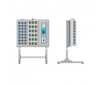ЭВС 4.115.103, стойка напольная для электронного сейфа на 2 секции